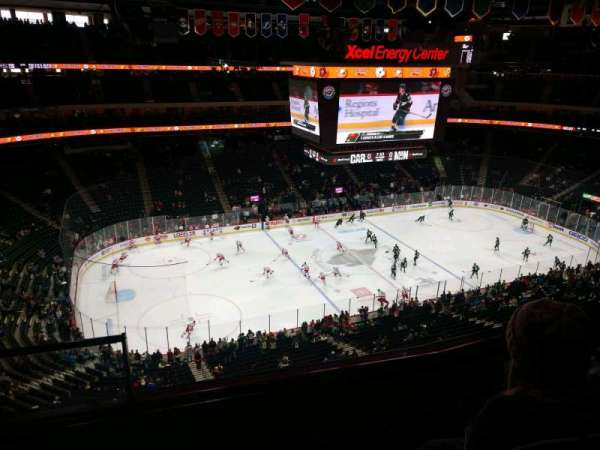 Xcel Energy Center, section: 206, row: 3, seat: 20