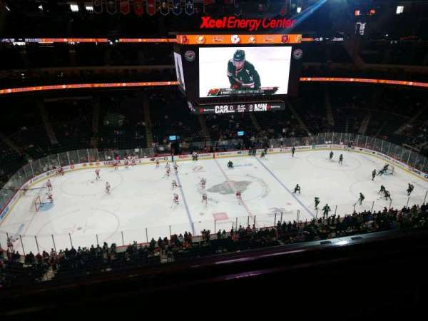 Xcel Energy Center, section: 205, row: 2, seat: 14