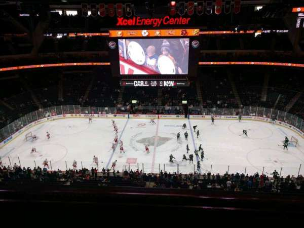 Xcel Energy Center, section: 204, row: 2, seat: 6
