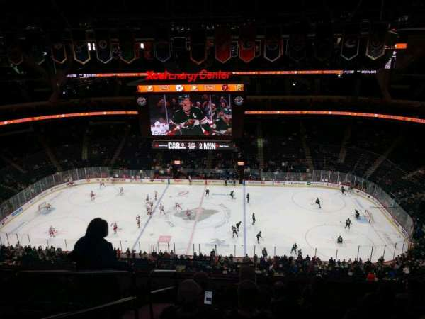 Xcel Energy Center, section: 203, row: 8, seat: 18