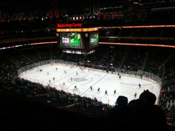 Xcel Energy Center, section: 201, row: 4, seat: 16