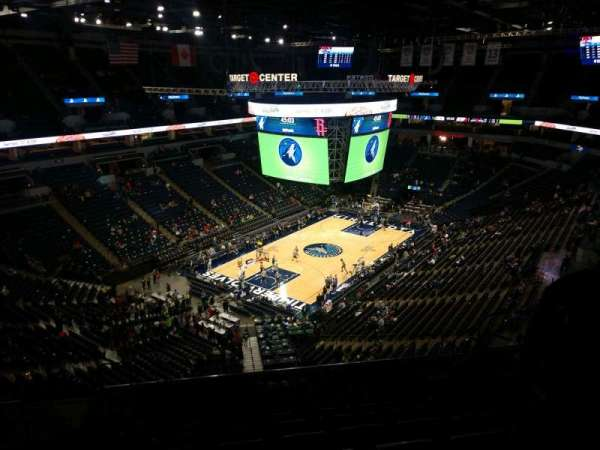 Target Center, section: 237, row: P, seat: 10