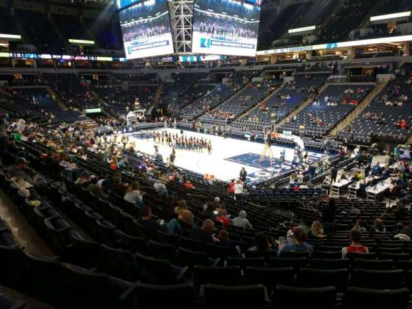 Target Center, section: 126, row: T, seat: 13