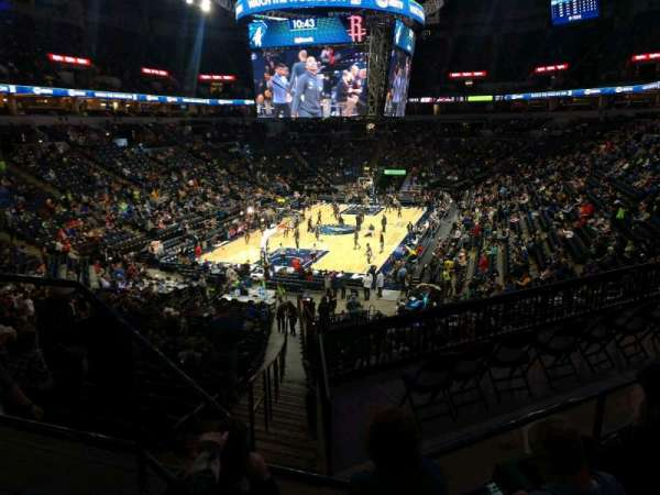 Target Center, section: 118, row: Y, seat: 17