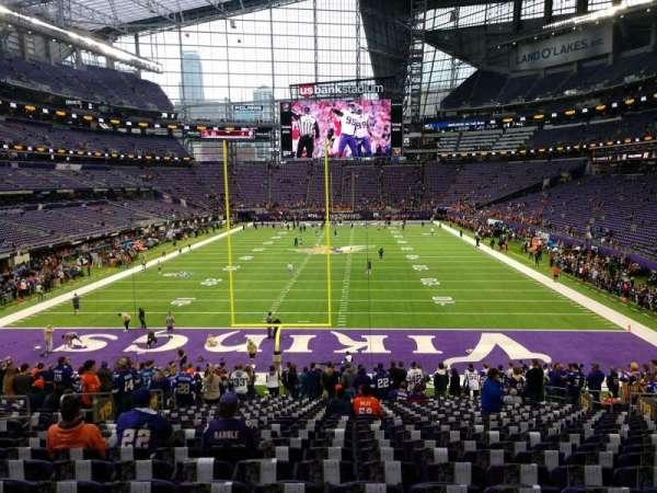 U.S. Bank Stadium, section: 119, row: 25, seat: 14