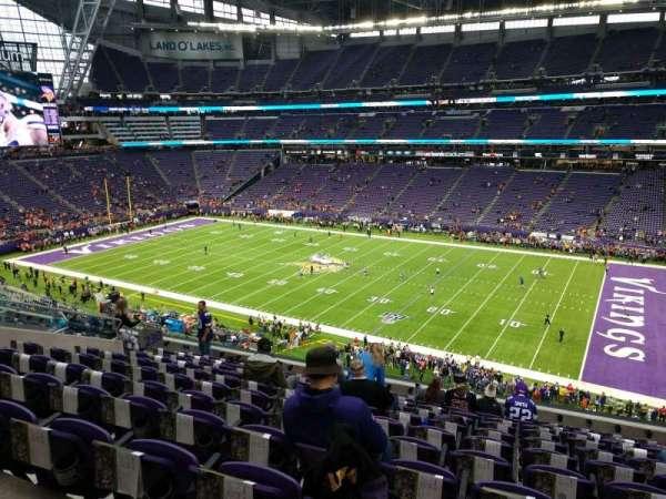 U.S. Bank Stadium, section: 230, row: 11, seat: 9