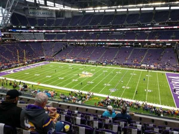 U.S. Bank Stadium, section: 231, row: 7, seat: 2