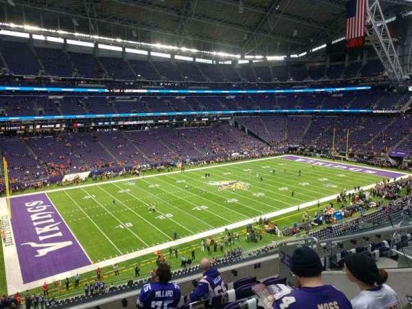 U.S. Bank Stadium, section: 239, row: 5, seat: 5