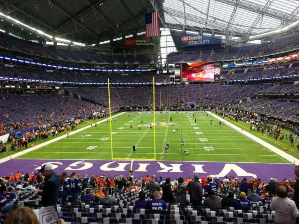 U.S. Bank Stadium, section: 141, row: 26, seat: 12