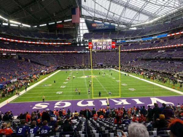 U.S. Bank Stadium, section: 142, row: 25, seat: 11