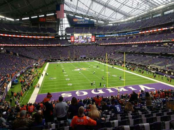 U.S. Bank Stadium, section: 143, row: 36, seat: 11