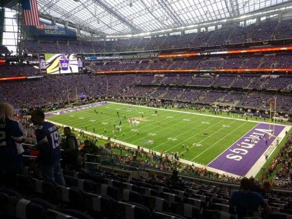 U.S. Bank Stadium, section: 205, row: 13, seat: 11