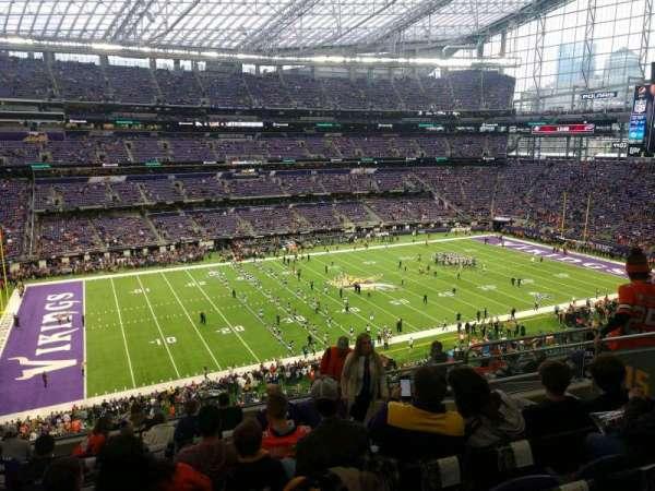 U.S. Bank Stadium, section: 215, row: 11, seat: 7