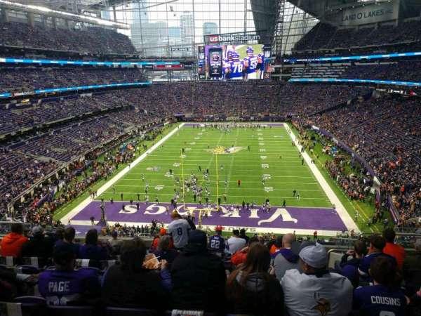 U.S. Bank Stadium, section: 223, row: 12, seat: 6