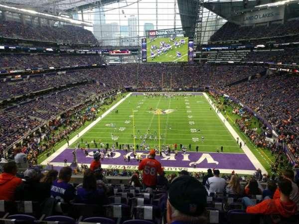 U.S. Bank Stadium, section: 223, row: 10, seat: 9