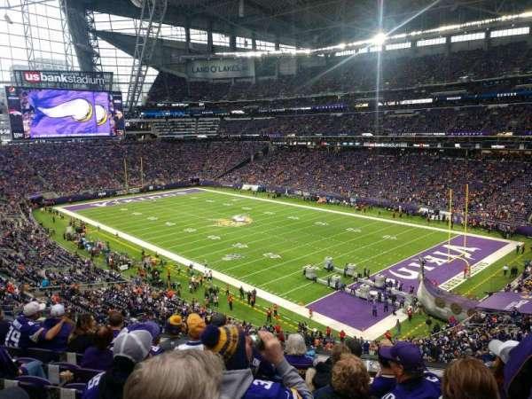 U.S. Bank Stadium, section: 227, row: 6, seat: 7