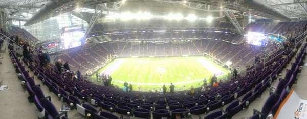 U.S. Bank Stadium, section: 341, row: 16, seat: 14