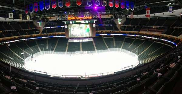 Xcel Energy Center, section: C26, row: 7, seat: 7