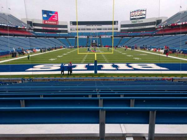 Buffalo Bills Stadium, section: 101, row: 20, seat: 10