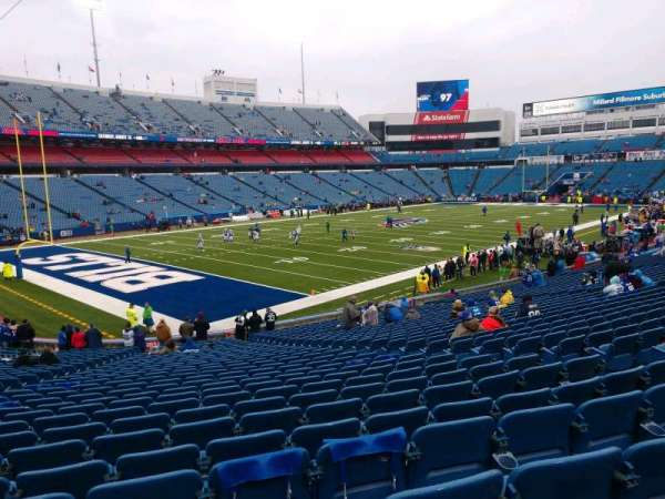 Buffalo Bills Stadium, section: 139, row: 31, seat: 9