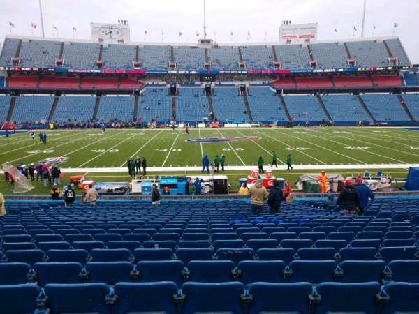 Buffalo Bills Stadium, section: 112, row: 26, seat: 10