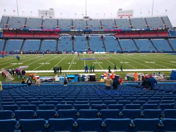 Highmark Stadium, section: 112, row: 26, seat: 10