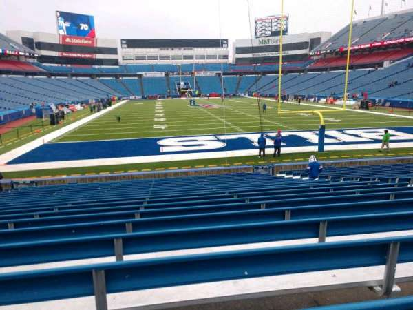 Buffalo Bills Stadium, section: 102, row: 21, seat: 10
