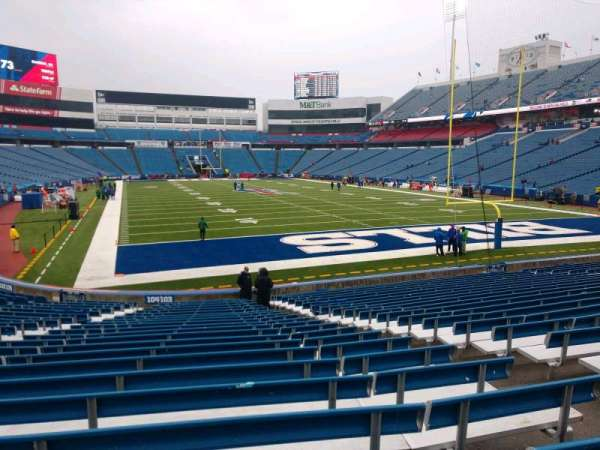Buffalo Bills Stadium, section: 103, row: 23, seat: 6