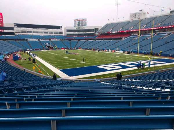 Buffalo Bills Stadium, section: 104, row: 30, seat: 10