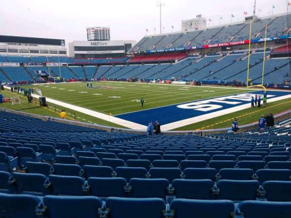 Buffalo Bills Stadium, section: 105, row: 25, seat: 10