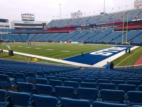 Buffalo Bills Stadium, section: 106, row: 22, seat: 10