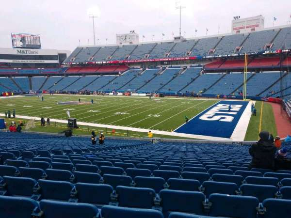 Buffalo Bills Stadium, section: 107, row: 37, seat: 16