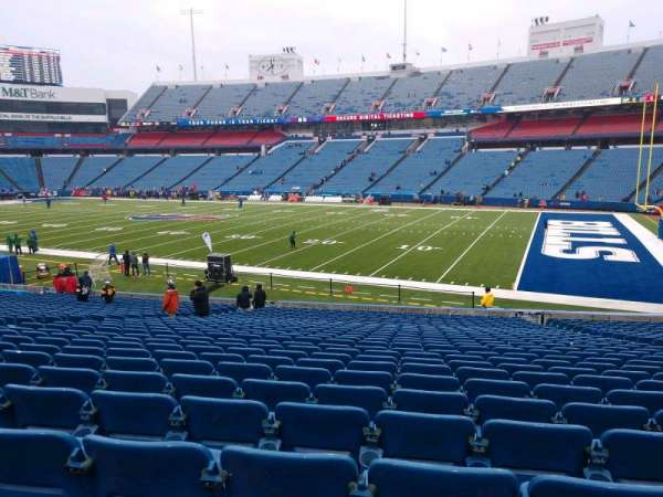 Buffalo Bills Stadium, section: 108, row: 30, seat: 10