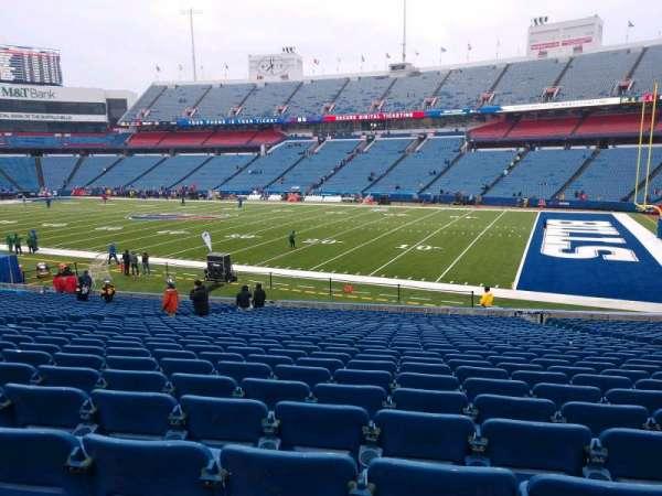 Highmark Stadium, section: 108, row: 30, seat: 10