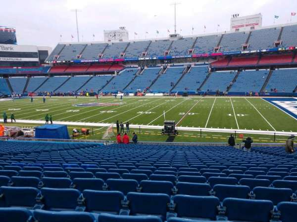 Buffalo Bills Stadium, section: 109, row: 29, seat: 10