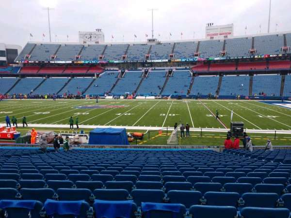 Buffalo Bills Stadium, section: 110, row: 25, seat: 10