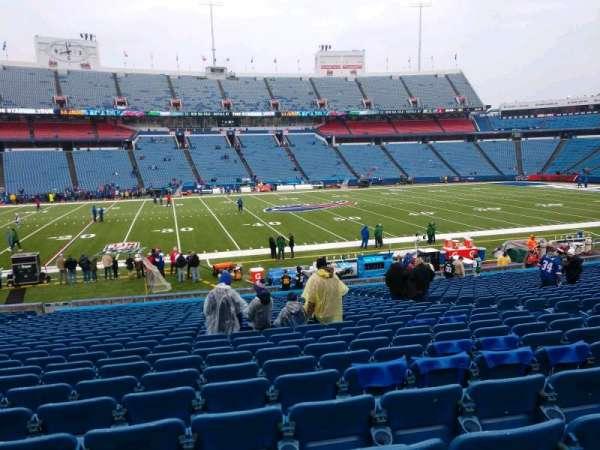 Buffalo Bills Stadium, section: 113, row: 28, seat: 10