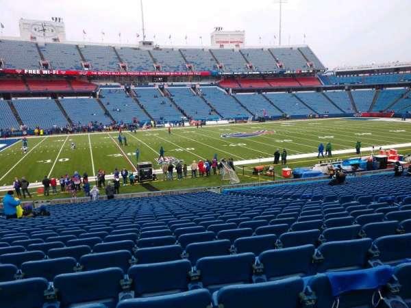 Buffalo Bills Stadium, section: 114, row: 30, seat: 10