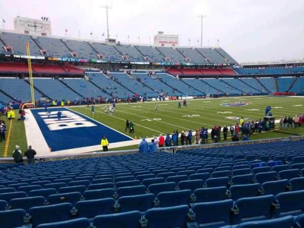 Buffalo Bills Stadium, section: 116, row: 24, seat: 10