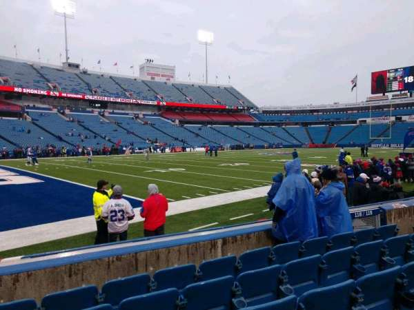 Buffalo Bills Stadium, section: 116, row: 6, seat: 10