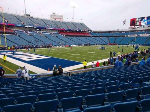 Highmark Stadium, section: 117, row: 17, seat: 7