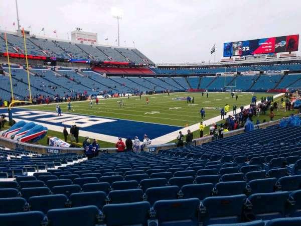 Highmark Stadium, section: 118, row: 22, seat: 8