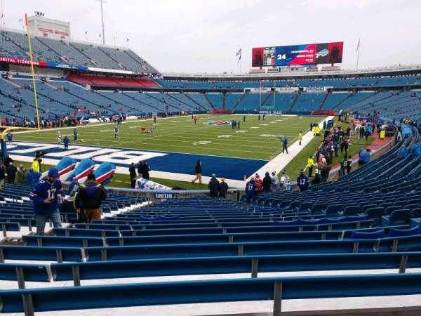Buffalo Bills Stadium, section: 119, row: 23, seat: 9
