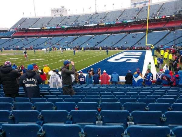 Highmark Stadium, section: 129, row: 15, seat: 10