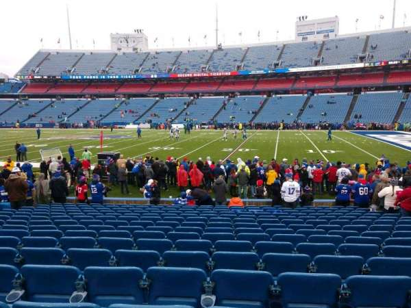 Buffalo Bills Stadium, section: 131, row: 16, seat: 10