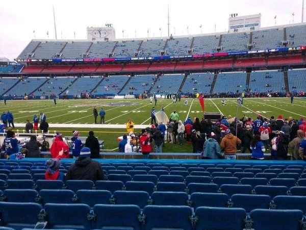 Highmark Stadium, section: 132, row: 13, seat: 10