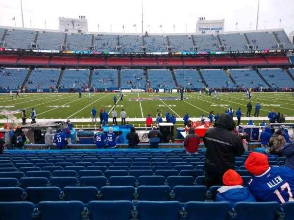 Highmark Stadium, section: 134, row: 16, seat: 10