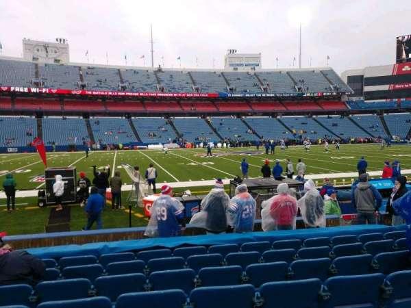 Highmark Stadium, section: 135, row: 10, seat: 10