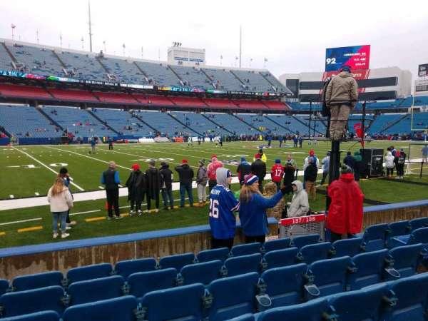 Buffalo Bills Stadium, section: 137, row: 7, seat: 7