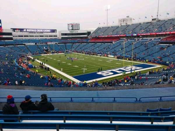 Buffalo Bills Stadium, section: 203, row: 8, seat: 12